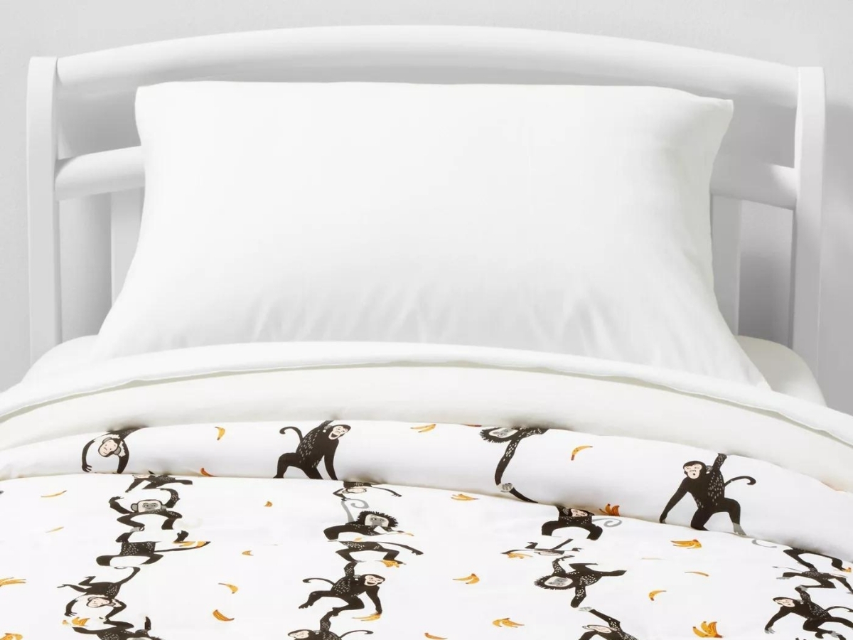 Pillowfort Toddler Monkeys Cotton Comforter Set