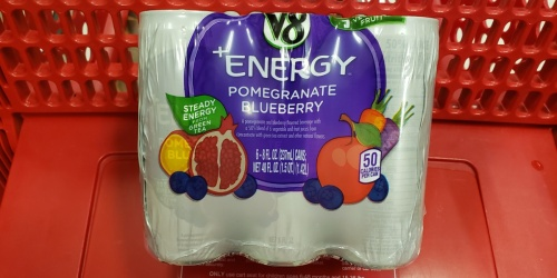 V8 +Energy Drinks 24-Count Only $11 Shipped on Amazon | Just 46¢ Per Can
