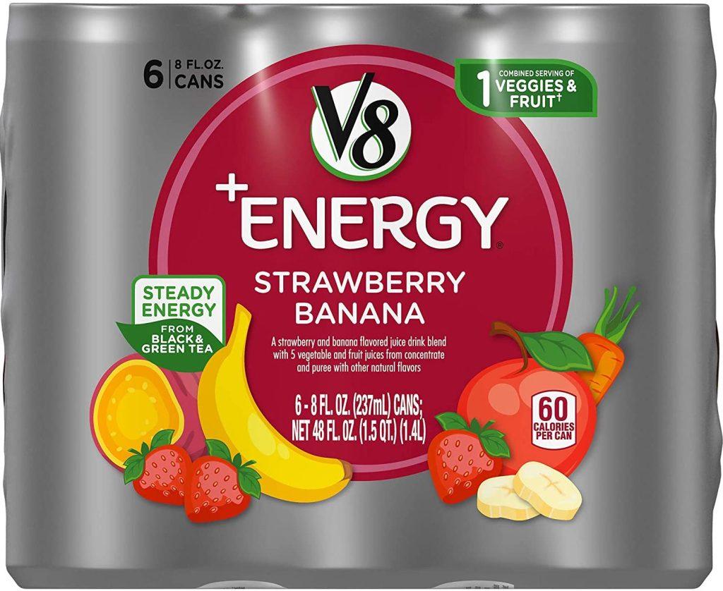 V8 Strawberry Banana 6 pack