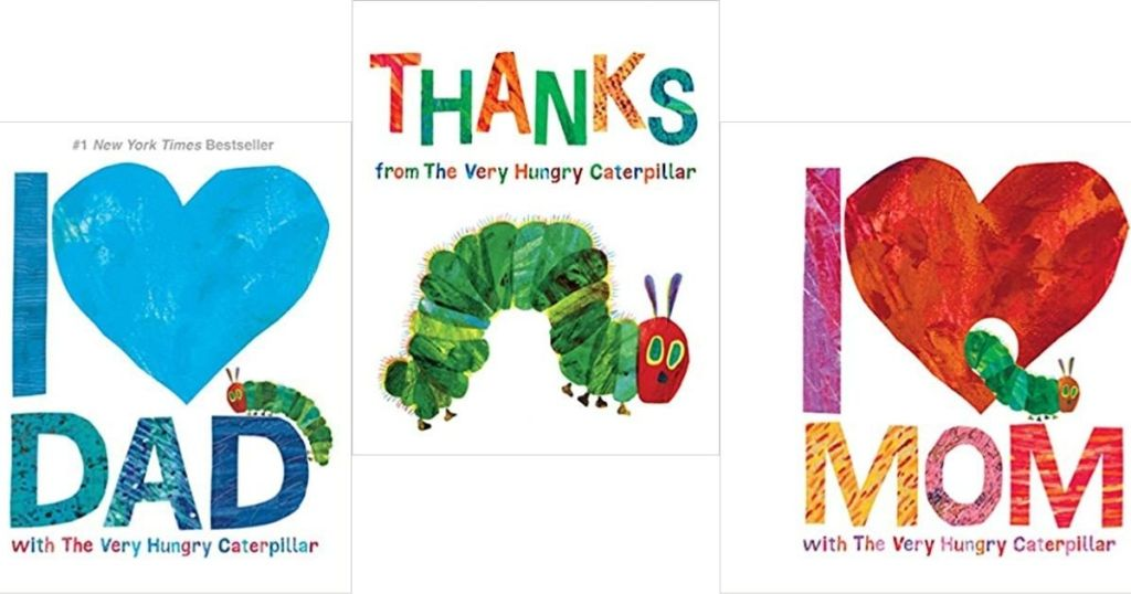 three The Very Hungry Caterpillar Books