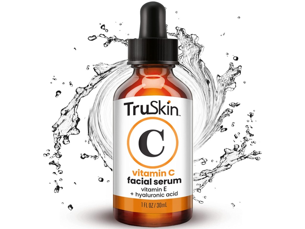vitamin c serum bottle