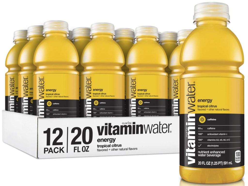 vitaminwater flavored water 12 pack