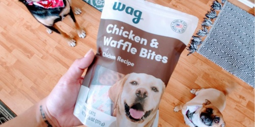 Wag Dog Treats from $3 Shipped on Amazon (Regularly $7)