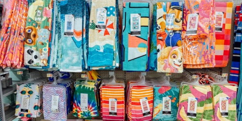 Beach Towels from $4.88 at Walmart   Includes Paw Patrol, Animal Crossing & More Fun Designs