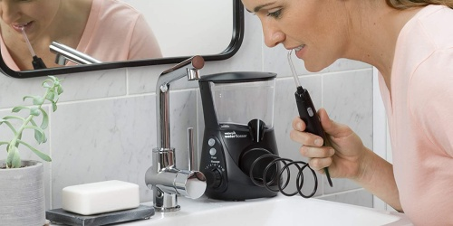 Waterpik Electric Flosser Only $39.93 Shipped for Amazon Prime Members (Reg. $70) | Great for Braces & Dental Work