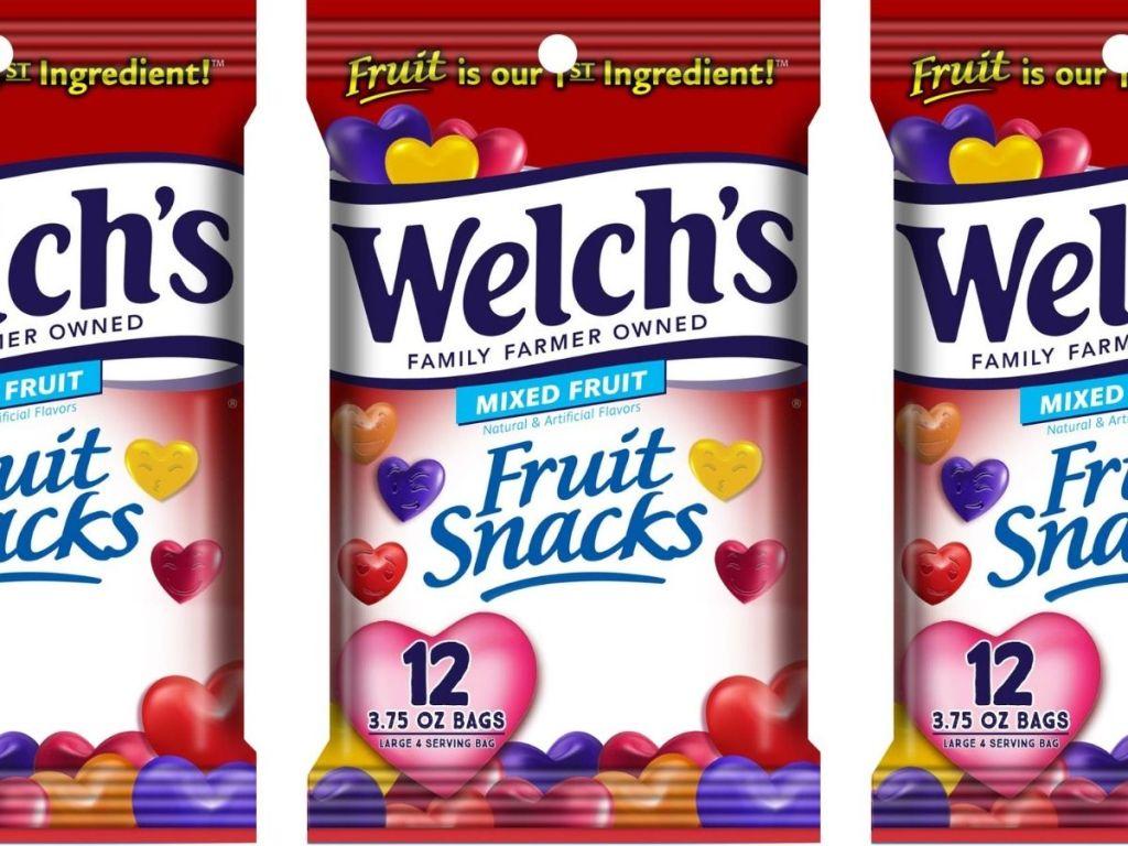 Welch's 3.75oz 12 pack fruit snacks