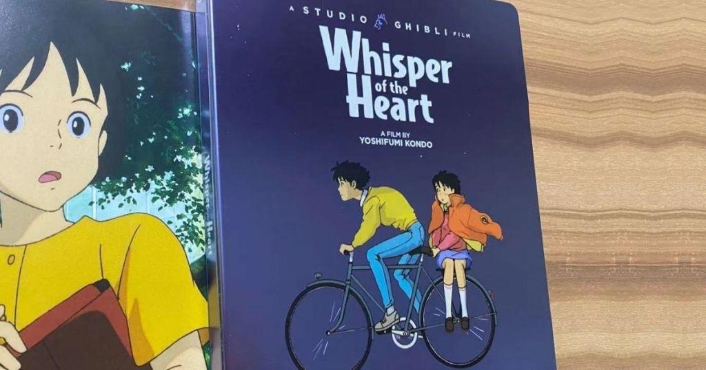 Whisper of the Heart Blur-Ray Steelbook