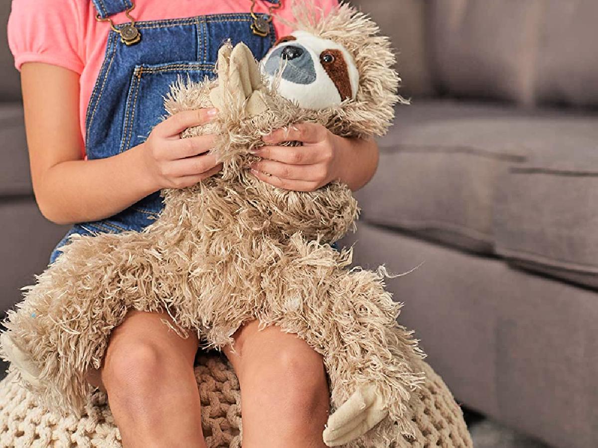 Wild Republic Cuddlekins Three-Toed Sloth 12-Inch Plush