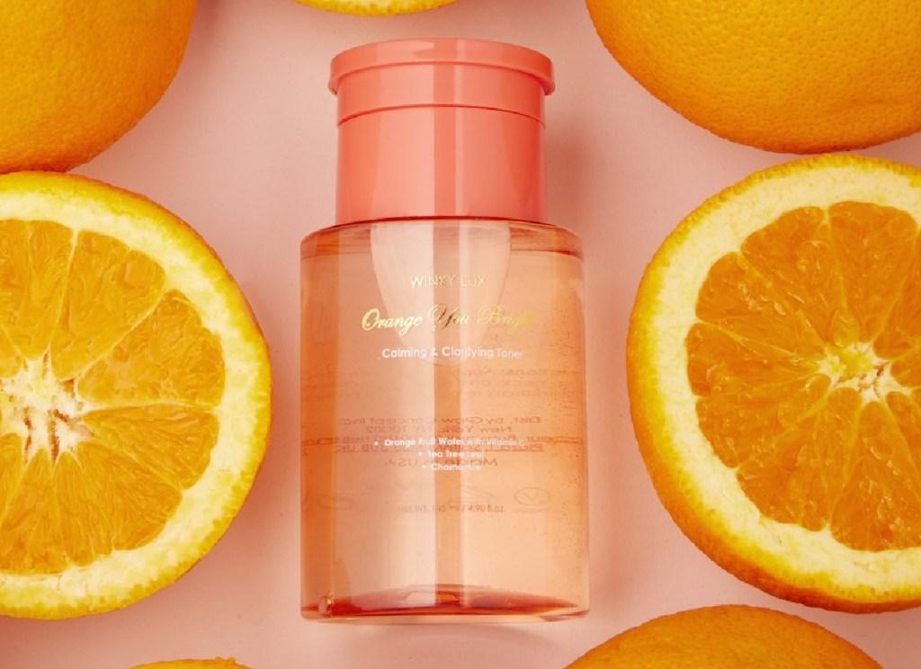 winky lux orange toner