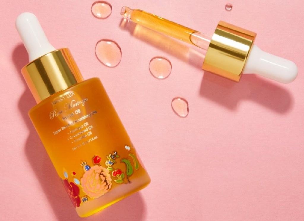 winky lux rose oil