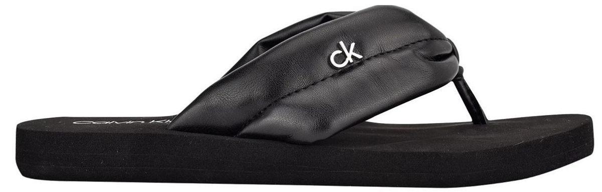 Calvin Klein Women's Cushy Puffy Flip Flop Sandals