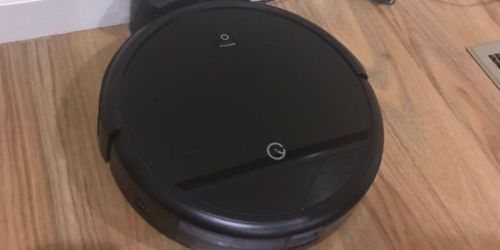 Robot Vacuum w/ 4 Cleaning Modes Only $90.99 Shipped on Amazon   Great for Pet Hair