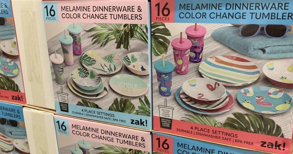 Zak Melamine Color Changing Dinnerware