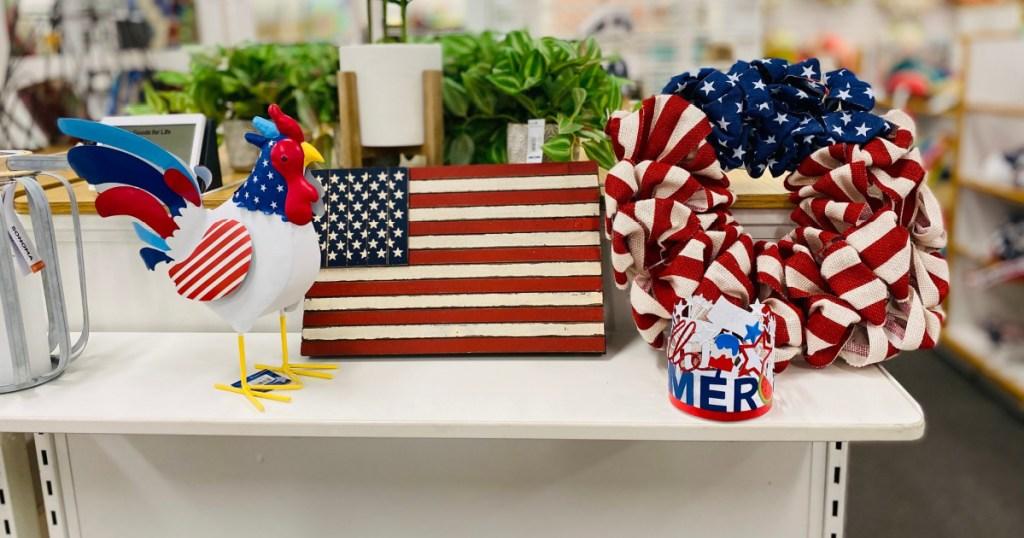 americana decor at kohls in store