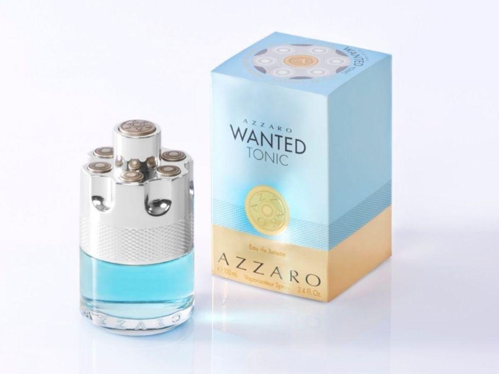 Azzaro Wanted Tonic bottle and box