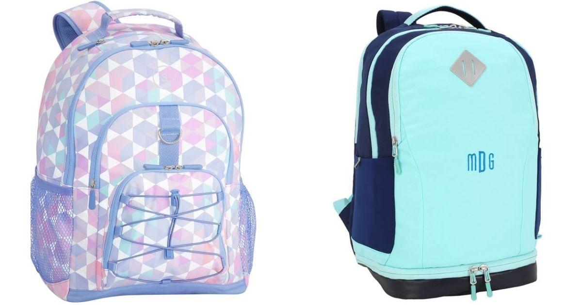 backpacks from Pottery Barn