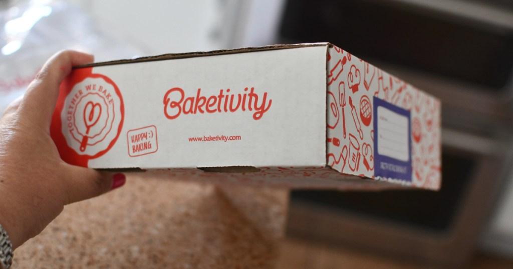 baketivity box in hand