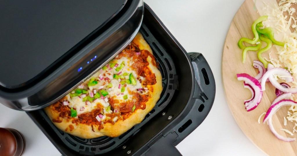 pizza in air fryer