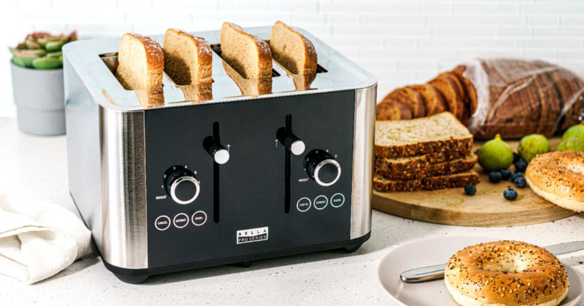 bella digital touchscreen toaster