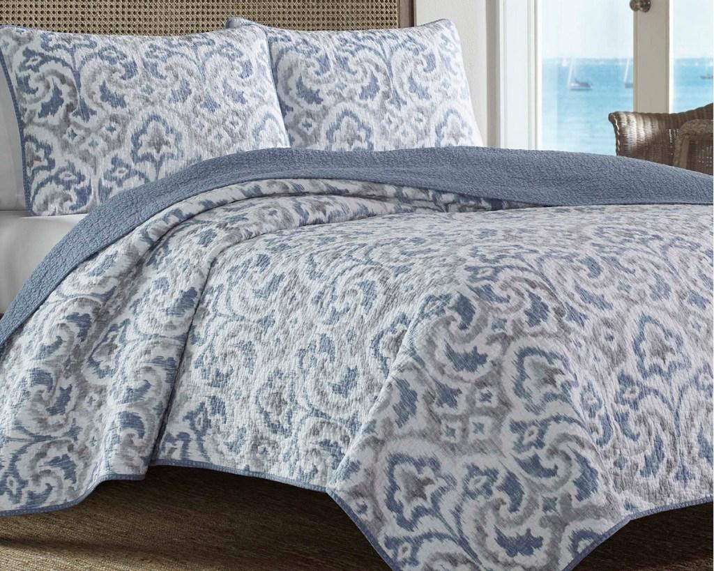 blue ocean bedding
