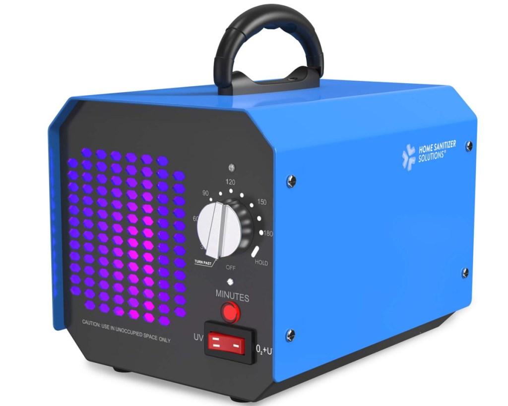 blue ozone generator
