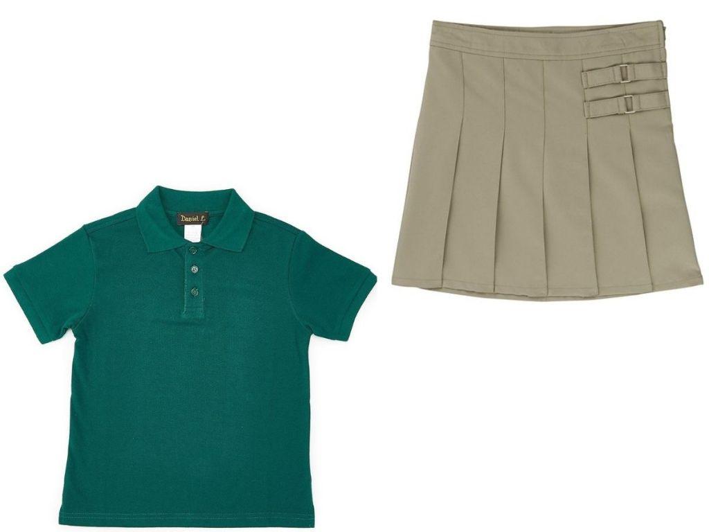 boys and girls uniform separates
