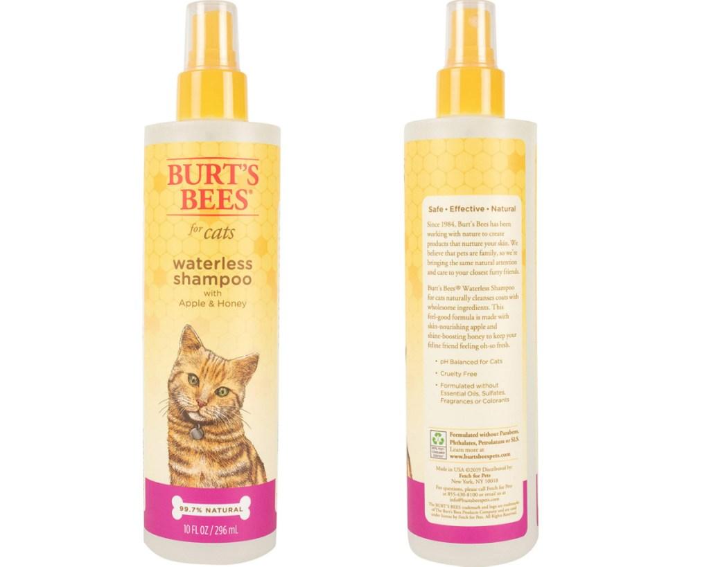 burts bees cat shampoo