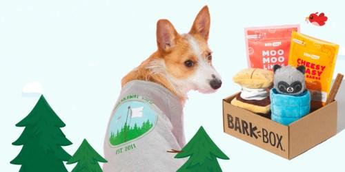 Complimentary Camp Tee w/ Your 1st BarkBox Subscription