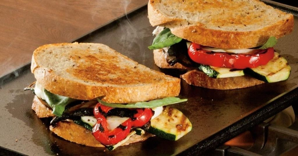 panini's on griddle