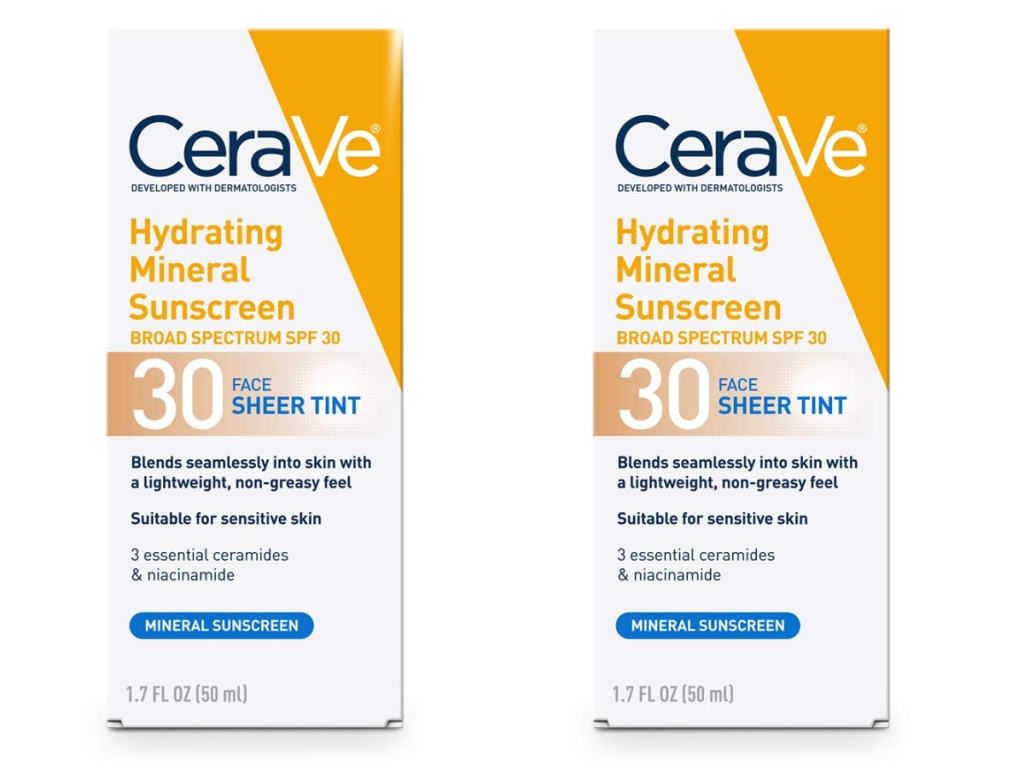 two cerave sunscreen
