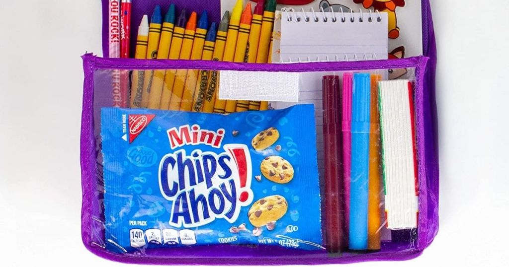 Chips Ahoy! minis in pencil case
