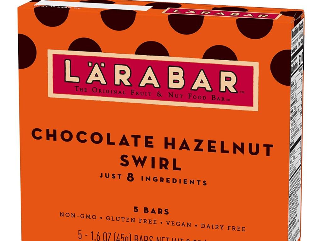 Chocolate hazelnut swirls