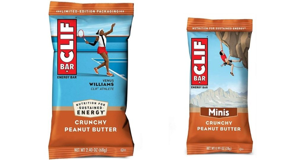 Clif Crunchy Peanut Butter bars