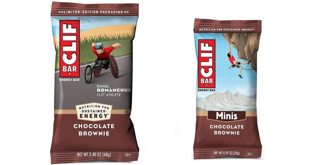 chocolate brownie Clif bars