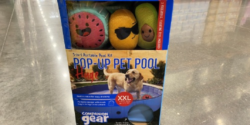 Pop-Up Pet Pool w/ 3 Floating Toys Only $36.99 at Costco