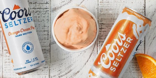 Coors is Making Ice Cream Infused with Orange Cream Pop Hard Seltzer