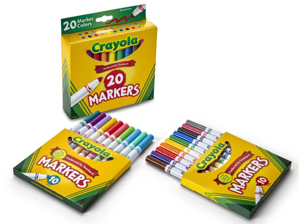 crayola 20 count markers