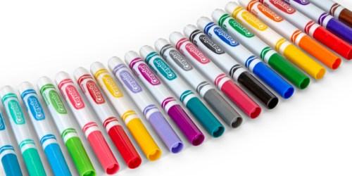 Crayola Broadline Classic Markers 20-Count Only $2 on Walmart.com