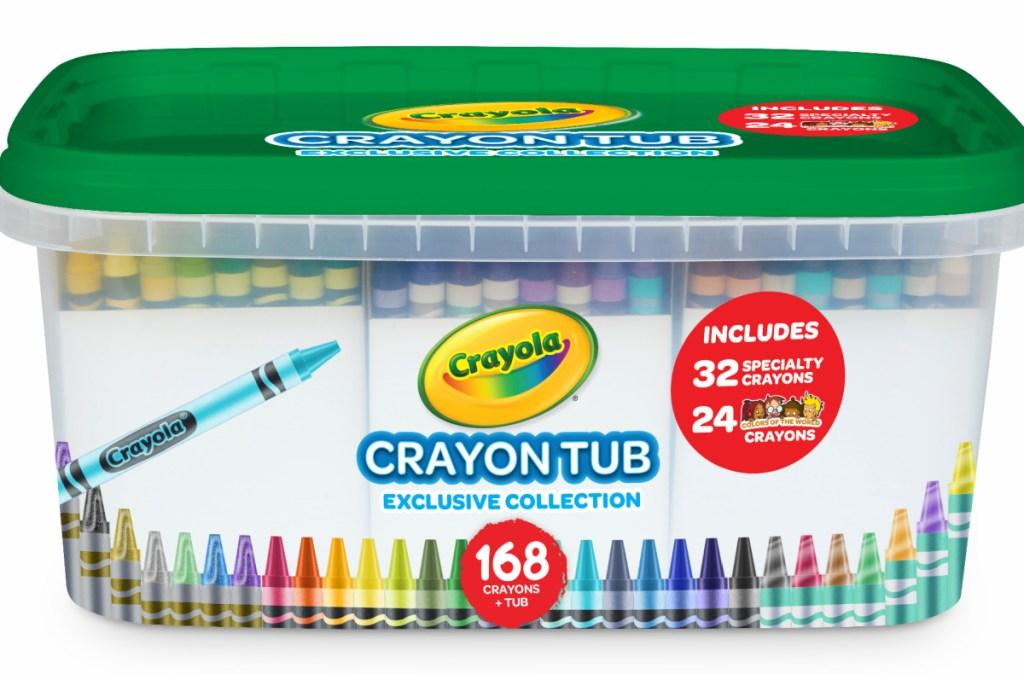 crayon tub