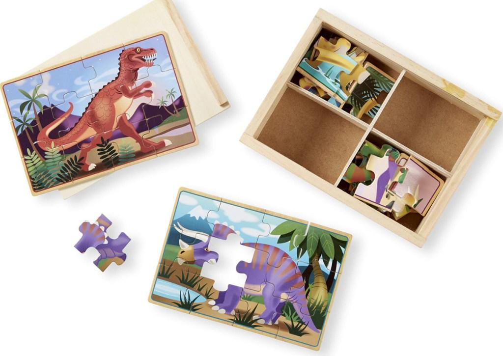 melissa & doug dinosaur puzzles