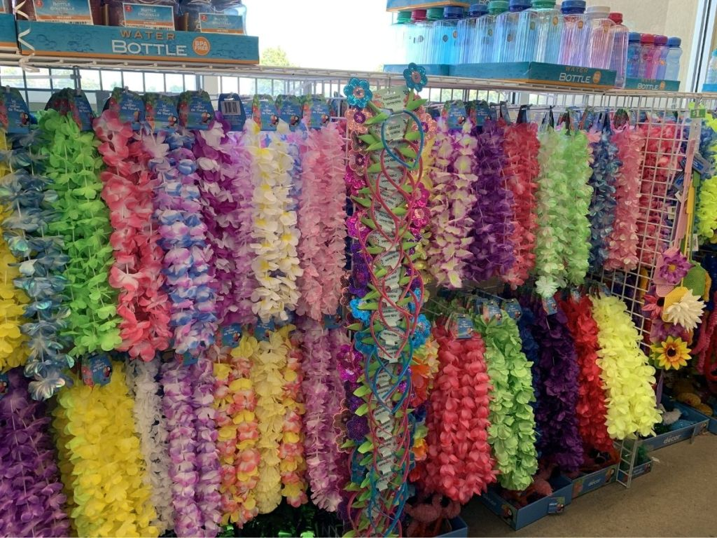 colorful leis