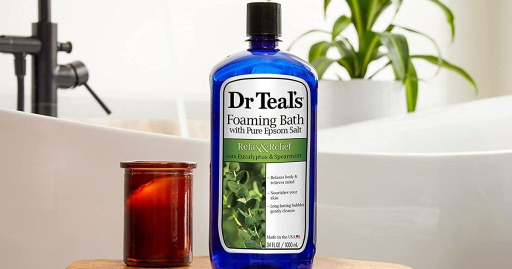 Dr Teals foaming bath