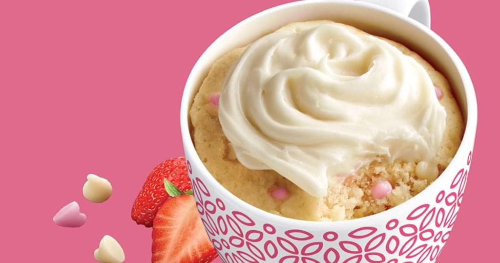 duncan hines strawberry cheese cake mug cake