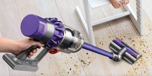 Refurbished Dyson V10 Cordless Stick Vacuum Just $269.99 Shipped on Woot.com