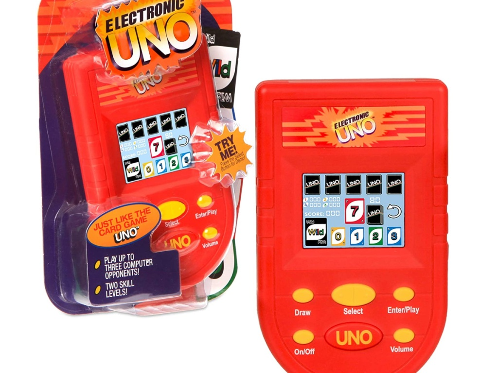 Electric uno game