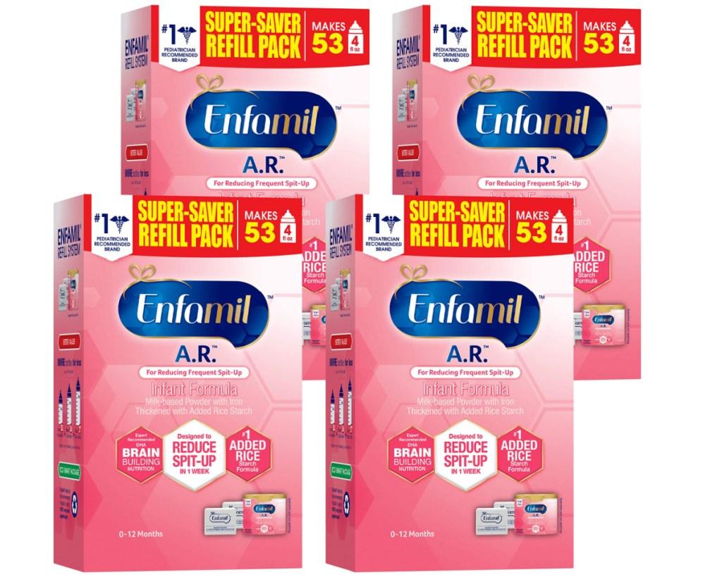 enafmil AR formula 4 pack