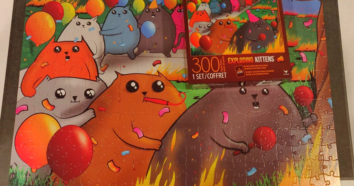 exploding kittens puzzles