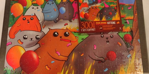 Exploding Kittens 300-Piece Jigsaw Puzzle Just $4.20 on Amazon (Regularly $12)