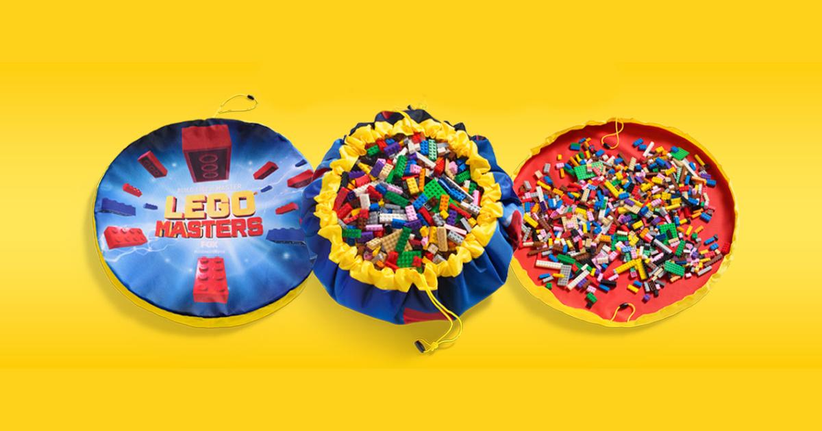 LEGO themed storage bag