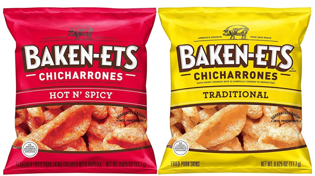 Baken-Ets hot n spicy and traditional chips